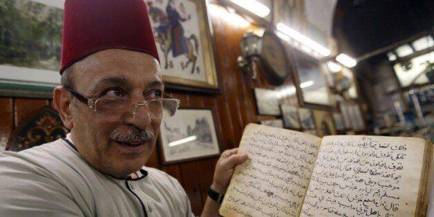 Dans le vieux Damas, le dernier conteur fait oublier la