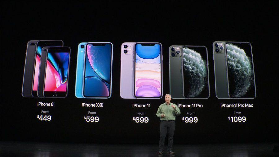 Avec la sortie des iPhone 11, les prix des anciens iPhone ont légèrement
