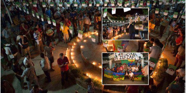 Béjaïa: rassemblement de citoyens en solidarité à la région du Rif au