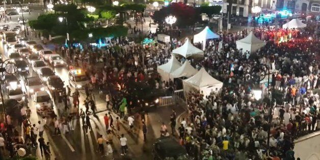 Violences à Alger centre lors du concert caritatif d'un rappeur