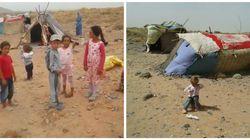 Réfugiés syriens coincés près de Figuig: