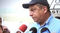 Quand le président du Costa Rica avale une guêpe en pleine interview