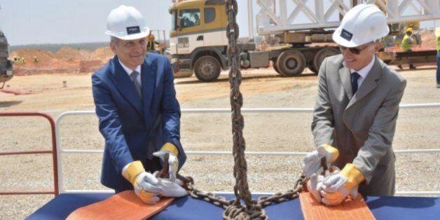Lancement de la 2e tranche du projet PSA: usine de moteurs, en présence de Moulay Hafid Elalamy, Ministre...