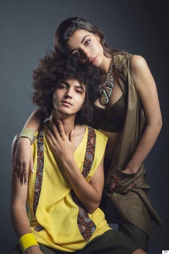 Driss Drissi, le jeune frère de Ali Drissi, fait ses débuts dans la mode (et on