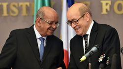 Messahel et Le Drian s'entretiennent sur les relations algéro-françaises et la prochaine visite de