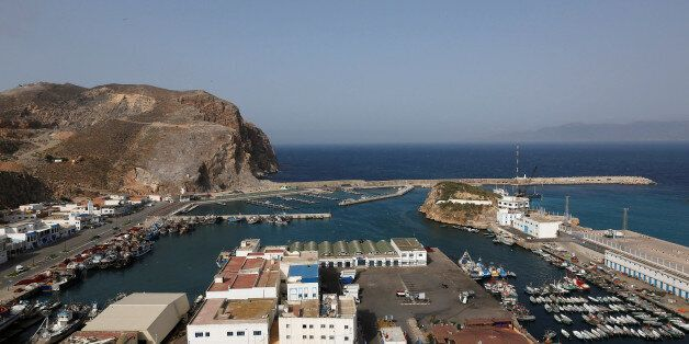 A view shows Al-Hoceima harbour on the Mediterranean coast in Morocco May 31, 2017. Protesters are expected...