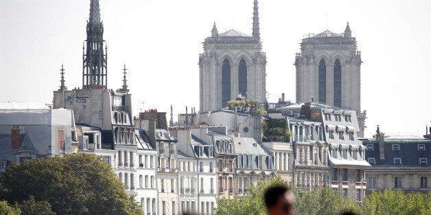 L'attaque a eu lieu hier, sur le parvis de Notre Dame de