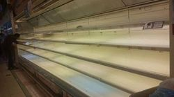 Les supermarchés du Qatar pris
