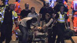 Attentats à Londres: les photos et vidéos des secours au London Bridge, boroughmarket et