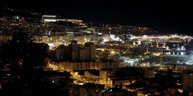 View of Algiers by night, Algiers on November 25, 2016. (Photo by Billal Bensalem/NurPhoto via Getty