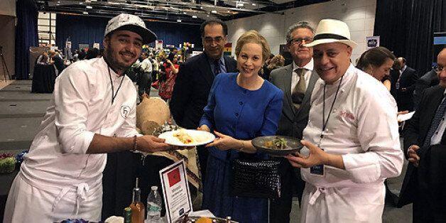 Chef Moha Fedal récompensé à Washington pour