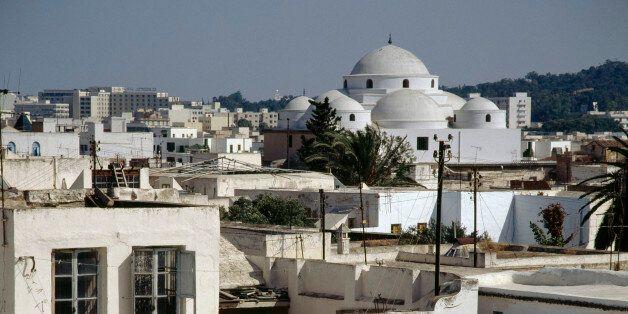 TUNISIA - MAY 09: View of the Tunis medina (Unesco World Heritage List, 1979), Tunis Governorate, Tunisia....