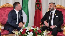 Le roi Mohammed VI s'est entretenu au téléphone avec le roi Abdallah II de
