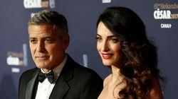 George et Amal Clooney accueillent leurs jumeaux Ella et