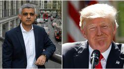 Donald Trump raille encore le maire Sadiq Khan et ses