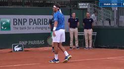 Le tennisman tunisien Malek Jaziri s'incline au premier tour de Roland
