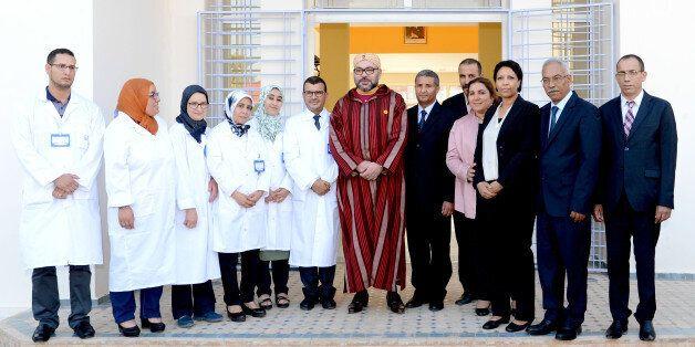 Le roi inaugure un nouveau centre d'addictologie à
