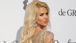 Une robe du créateur tunisien Ali Karoui portée par Victoria Silvstedt à Cannes fait encore sensation