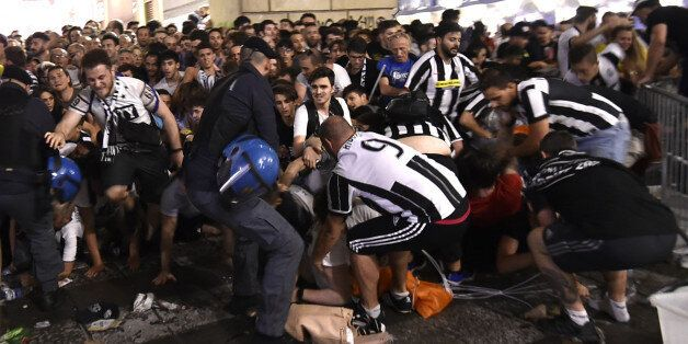 Football Soccer - Juventus v Real Madrid - UEFA Champions League Final - San Carlo Square, Turin, Italy...