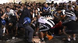 A Turin, un mouvement de panique fait 1.000 blessés pendant le match
