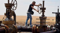 La production de pétrole à l'arrêt dans deux
