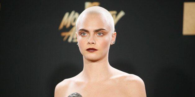 2017 MTV Movie and TV Awards - Arrivals – Los Angeles, U.S., 07/05/2017 – Model Cara Delevingne....
