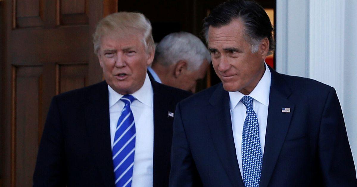 Trump Mocks Mitt Romney For Losing To Barack Obama