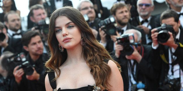 CANNES, FRANCE - MAY 24: Sonia Ben Ammar attends 'The Beguiled' premiere during the 70th annual Cannes...