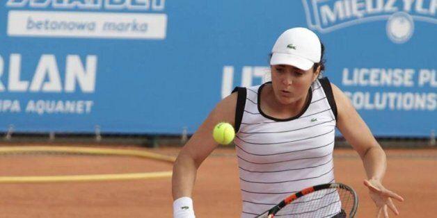La Tenniswoman tunisienne Ons Jabeur au deuxième tour de Roland
