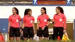 Un corps arbitral 100% féminin pour un match de 2eme division, une première pour le football tunisien