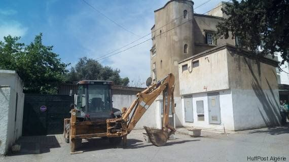 Vive colère à la cité Mansour Dahebi, Hussein-Dey après la démolition du portail et d'une