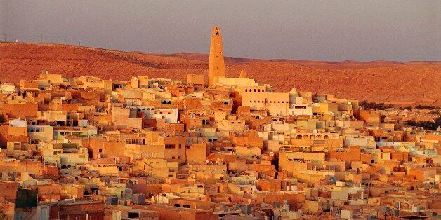 ALGERIA - MARCH 5: View of Ghardaia, M'Zab Valley (UNESCO World Heritage List, 1982), Algeria. (Photo...
