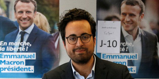 Mounir Mahjoubi, candidate in French Parliamentary elections for Macron's party and digital campaign...