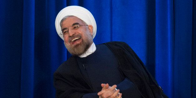 Hassan Rouhani à New York, REUTERS/Keith