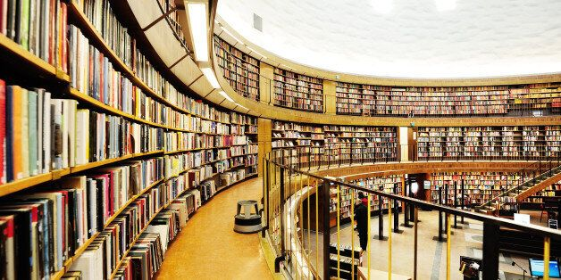 Round library (Public Library of Stockholm,
