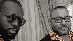 Nouvelle photo virale de Maître Gims et du roi Mohammed