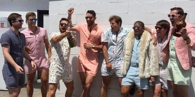 Les combi-shorts pour hommes, la nouvelle tendance de