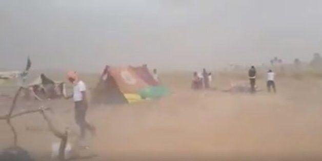 Les réfugiés syriens entre le Maroc et l'Algérie pris dans une tempête de