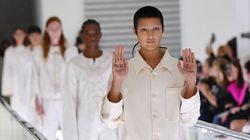 """グッチのショーに""""拘束衣""""。参加モデルが無言の抗議「メンタルヘルスはファッションじゃない」"""