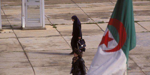 ALGERIA - FEBRUARY 01: Faculty of Bab Ezzour in Algiers, Algeria in February, 1992. (Photo by Jean-Michel...