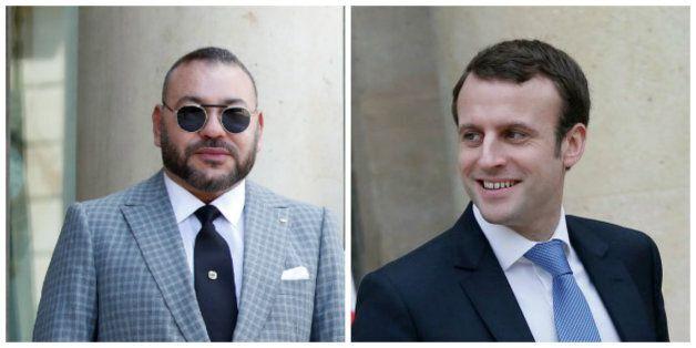 Mohammed VI félicite Emmanuel Macron, président de la république