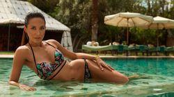À Marrakech, Myleene Klass dévoile une collection de maillots de bain inspirée du Maroc