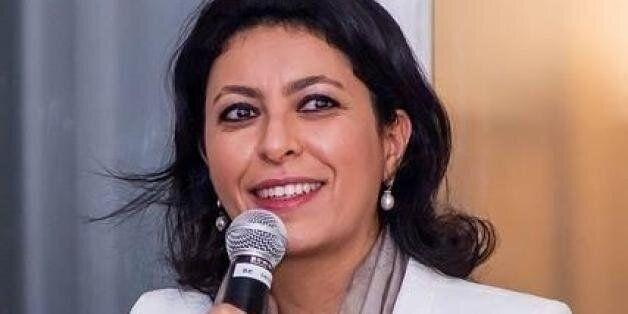 La candidate En Marche! Leila Aïchi
