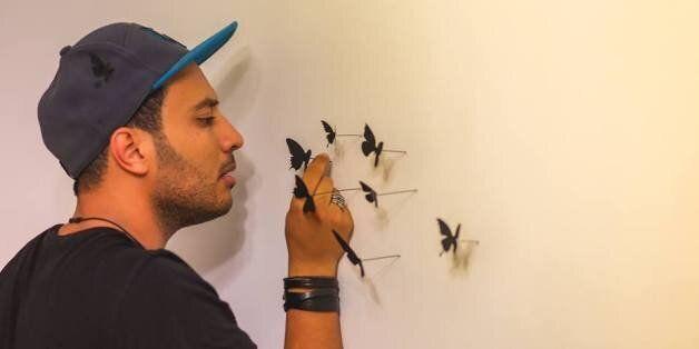 L'artiste Chawki Atia expose