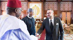 Le roi reçoit le ministre d'État au transport du