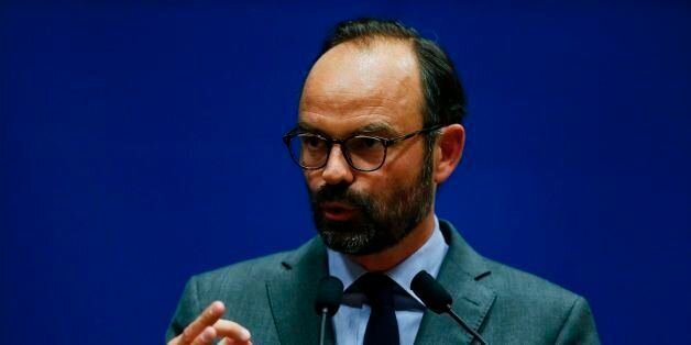 Mayor of Le Havre Edouard Philippe presents the candidates for the 'La Republique en marche' party ahead...