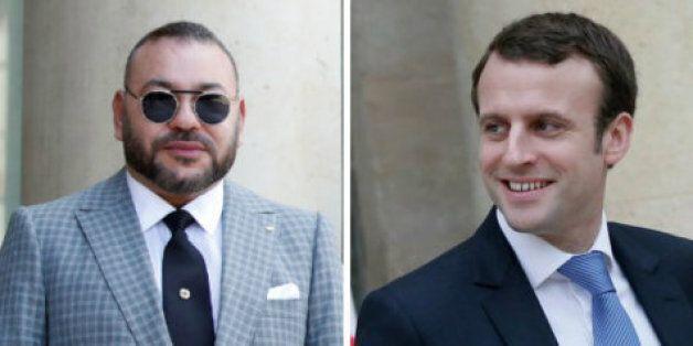 Mohammed VI et Emmanuel Macron se sont entretenus au