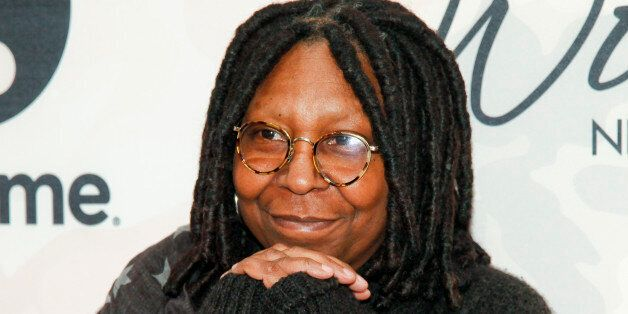 FILE - In this April 24, 2015 file photo, Whoopi Goldberg attends Variety's Power of Women Luncheon at...