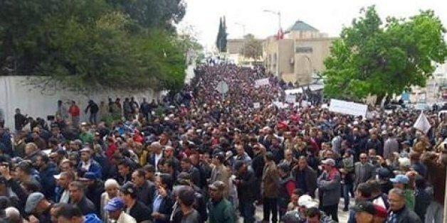 Grève générale au Kef: fermeture des commerces et paralysie totale de la