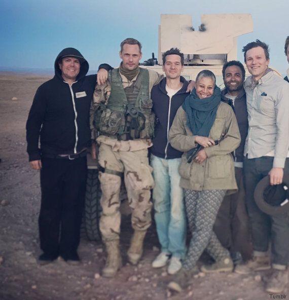 Alexander Skarsgard, du désert marocain au Met Gala